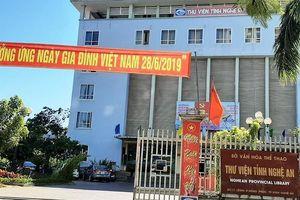 Thư viện tỉnh Nghệ An bỗng dưng âm quỹ hơn... nửa tỉ đồng!