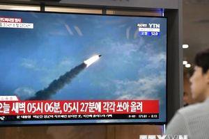 Hàn Quốc: Triều Tiên lại bắn các vật thể tầm ngắn chưa xác định