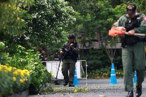 Thái Lan thắt chặt tình trạng an ninh sau hàng loạt vụ nổ ở thủ đô Bangkok