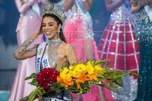 Nữ sinh 19 tuối đăng quang Hoa hậu Venezuela