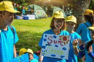 Saigonchildren tổ chức hội trại cho hơn 100 em có hoàn cảnh khó khăn