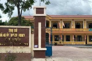 Trộm lại đột nhập trụ sở UBND xã ở Quảng Bình, lấy đi nhiều tài sản