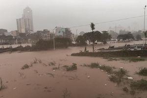 Nước sông Ka Long dâng cao, TP Móng Cái ngập một số khu vực