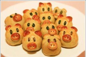 Cách làm bánh Trung thu hình con vật ngộ nghĩnh cho bé phá cỗ ngày rằm
