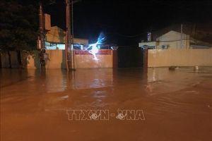 Khu vực Bắc Bộ đến Thanh Hóa có mưa to, nguy cơ lũ quét, sạt lở đất và ngập úng