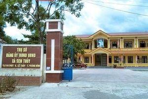 Trộm liên tục đột nhập nhiều UBND xã ở Quảng Bình lấy đi nhiều tài sản