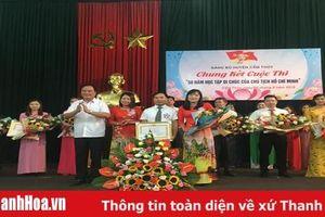 Đảng bộ huyện Cẩm Thủy tổ chức thành công Hội thi 'Học tập Di chúc của Chủ tịch Hồ Chí Minh'
