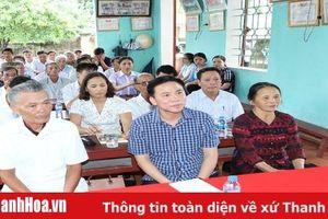 Đồng chí Phó Bí thư Thường trực Tỉnh ủy Đỗ Trọng Hưng dự sinh hoạt chi bộ khu phố Vinh Phúc