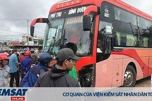 Khám nghiệm hiện trường, điều tra vụ tai nạn giao thông đặc biệt nghiêm trọng tại huyện Chư Sê, tỉnh Gia Lai