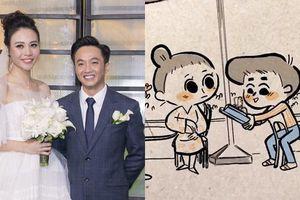 Đàm Thu Trang kể lại chuyện tình với Cường Đô la bằng cách siêu đáng yêu