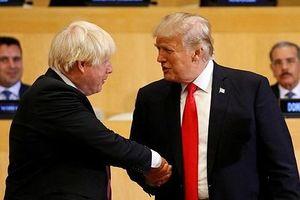 Anh tự tay 'dập tắt' thỏa thuận thương mại tự do với Mỹ
