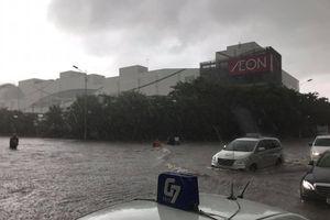 Hoàn lưu bão gây mưa lớn, Hà Nội ngập lụt nhưng chất lượng không khí được cải thiện