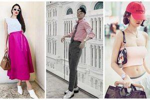 Cùng khoe street style với sắc hồng: Sơn Tùng đỏm dáng - Ngọc Trinh sexy - Phạm Hương cổ điển