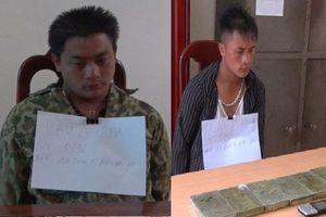 Điện Biên: Bắt giữ hai anh em mua bán 6 bánh heroin