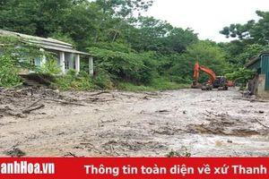 Huyện Mường Lát nỗ lực giải tỏa các điểm sạt lở, gây chia cắt giao thông