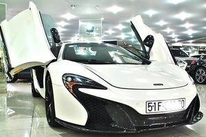 Rao bán McLaren 650S Spider của ông Đặng Lê Nguyên Vũ