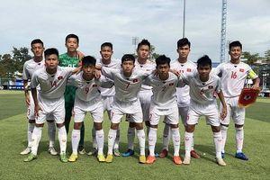Thắng may mắn Timor Leste, U15 Việt Nam vào bán kết Đông Nam Á