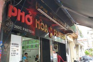Quán phở Hòa bị 'khủng bố': Công an TP.HCM nói 'không liên quan tín dụng đen'