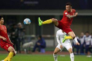 Bóng đá Trung Quốc tăng tốc theo đuổi chính sách tuyển 'hợp chủng quốc'