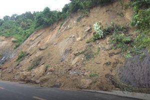 Hàng chục điểm sạt lở trên quốc lộ 12 nối Điện Biên - Lai Châu