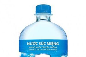 Cục Quản lý Dược đình chỉ lưu hành toàn quốc sản phẩm nước súc miệng Dr. Muối