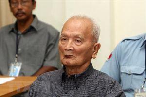 Nuon Chea - kẻ chịu trách nhiệm cho tội diệt chủng ở Campuchia