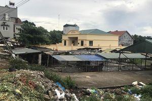 Xây chợ tập trung tại phường Đại Yên