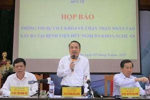Sự cố chạy thận nghiêm trọng ở Nghệ An: Lý do thực sự là gì?