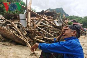 Hiện trường tan hoang sau cơn lũ dữ ở bản Sa Ná, Thanh Hóa