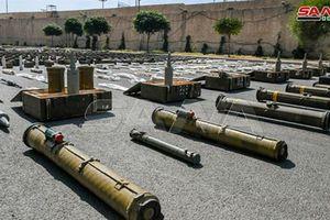 Quân chính phủ Syria phát hiện kho vũ khí lớn ở thành trì phe nổi dậy