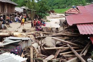 12 người mất tích sau bão số 3 ở bản Sa Ná, Thanh Hóa: Tìm thấy thi thể nạn nhân đầu tiên