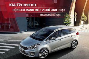 Bảng giá Kia Rondo tháng 8: Rondo Standard MT chỉ 585 triệu