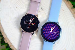 Galaxy Watch Active 2 có vòng xoay cảm ứng, giá 280 USD