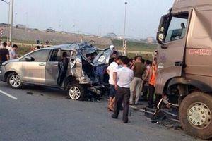 VKS trả hồ sơ vụ xe container đâm Innova làm chết 4 người