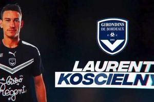 Koscielny rời Arsenal để về chơi cho Bordeaux
