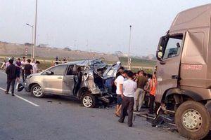 Trả hồ sơ, điều tra bổ sung vụ xe Innova đi lùi trên cao tốc khiến 4 người chết
