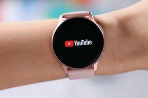 Xem Youtube trực tuyến trên smartwatch, duy nhất Galaxy Watch Active 2 có