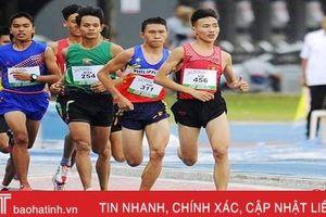 Hà Tĩnh giành 14 huy chương tại Giải vô địch điền kinh trẻ quốc gia