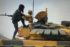 Chùm ảnh:Đội tuyển xe tăng Việt Nam thi đấu ngày đầu tiên tại Tank Biathlon