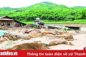 Dồn lực khắc phục hậu quả mưa lũ