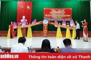 Huyện Nga Sơn tổ chức Hội thi ' Học tập di chúc của Chủ tịch Hồ Chí Minh'