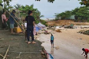 Phú Quốc dù nước đã rút nhưng một số nơi vẫn còn ngập