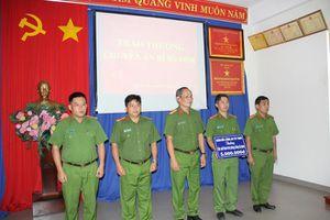 Công an Tây Ninh khen thưởng 2 tập thể phá án