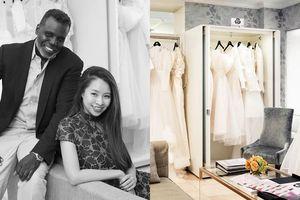 Thiết kế của NTK Phương My có mặt tại tiệm váy cưới hàng đầu New York
