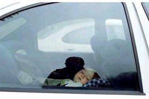 Nếu chỉ có một mình, trẻ chịu đựng trong ôtô được bao lâu?