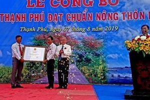 Mỹ Xuyên (Sóc Trăng): Xã Thạnh Phú đón nhận danh hiệu xã đạt chuẩn nông thôn mới