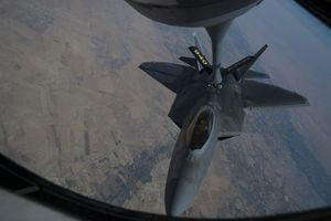 Tiêm kích F-22 của Không quân Mỹ xuất hiện trở lại ở Syria