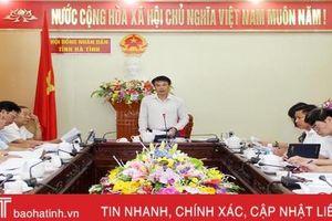 Hoàn thiện các dự thảo nghị quyết liên quan sáp nhập xã trình Kỳ họp thứ 11 HĐND Hà Tĩnh
