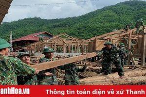 LLVT Thanh Hóa: Kề vai, sát cánh cùng nhân dân vùng lũ
