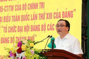 Hà Nội: Không để người thiếu tiêu chuẩn, thiếu gương mẫu vào cấp ủy